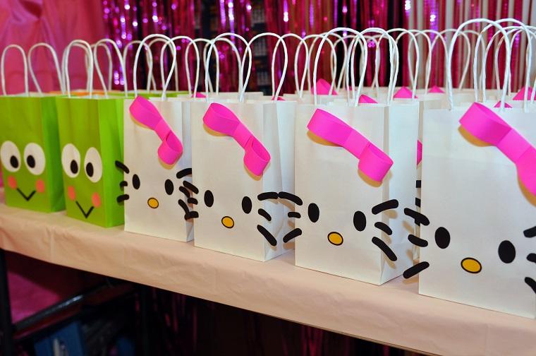 idee compleanno fai da te sacchettini decorati