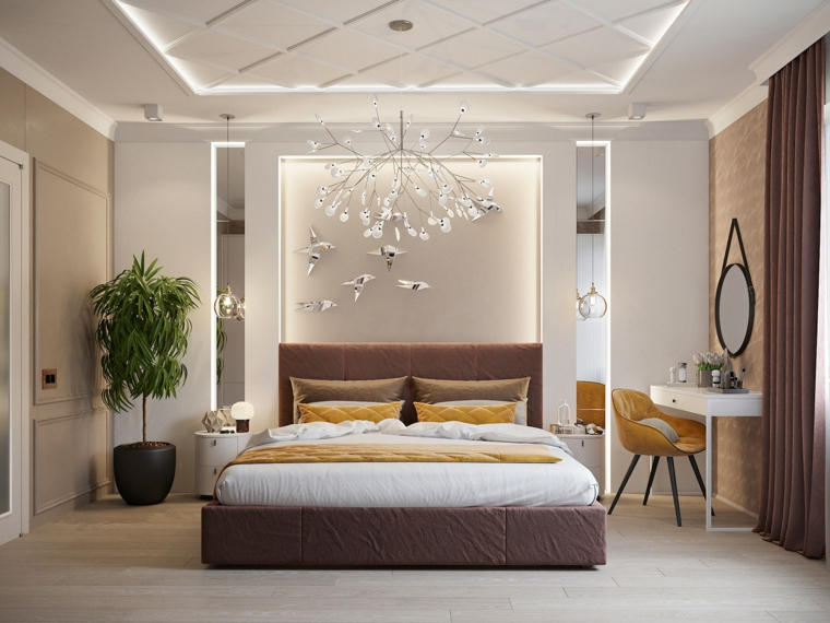 Lampadari Di Design Per Camera Da Letto.Camere Da Letto Moderne Consigli E Idee Arredamento Di Design Archzine It
