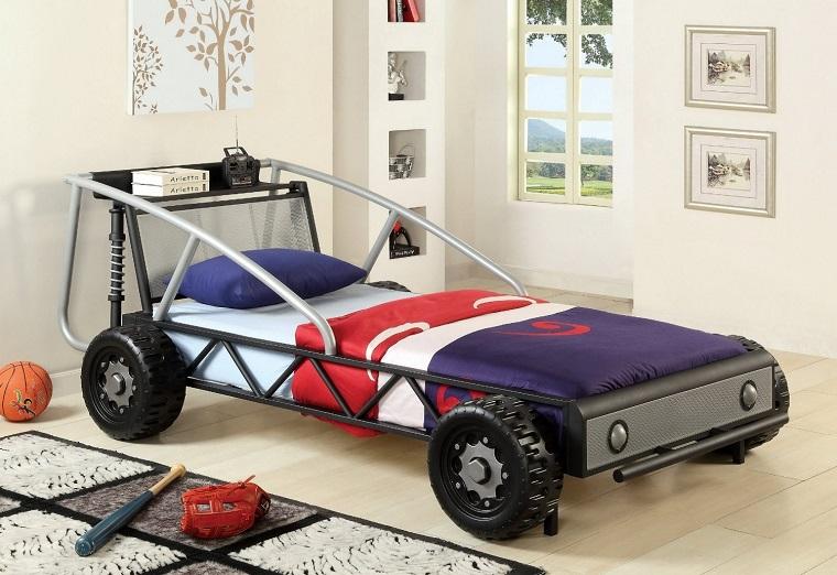 Letto A Forma Di Auto Da Corsa : Letto a forma di pullman auto usato macchina ikea letti per