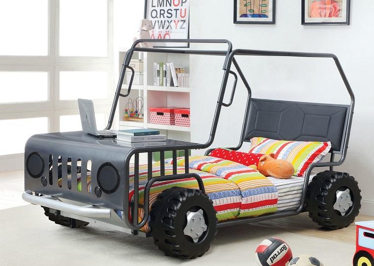Lettini per bambini a forma di macchina il sogno di ogni for Lettini per bambini