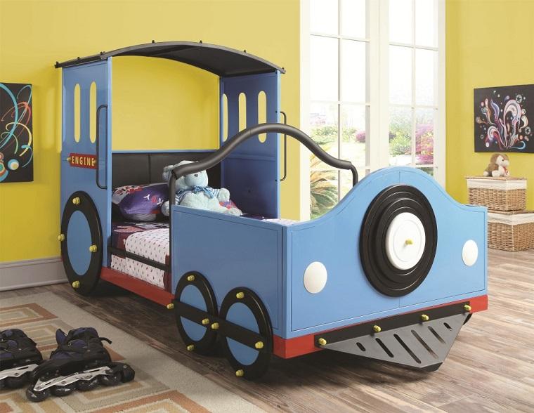 Lettini per bambini a forma di macchina il sogno di ogni - Letto bambino macchina ...