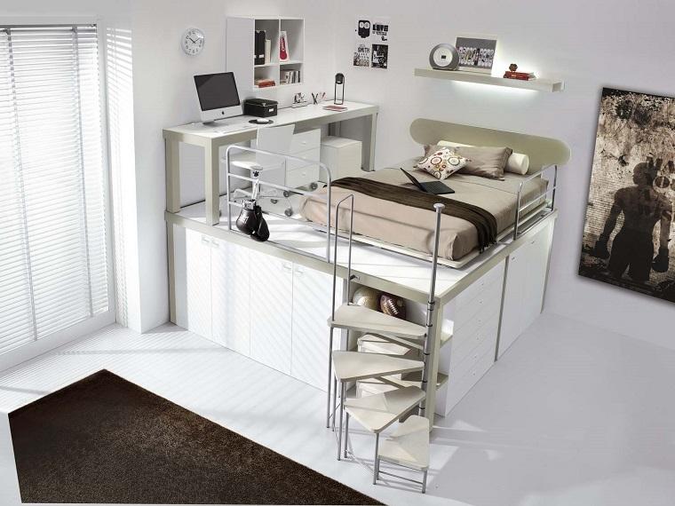 Idee Salvaspazio Camera Da Letto : Camere da letto salvaspazio awesome soluzioni salvaspazio camera