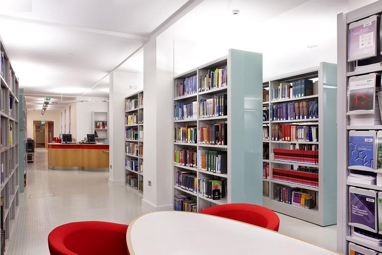 libreria cartongesso proposta piu strutture