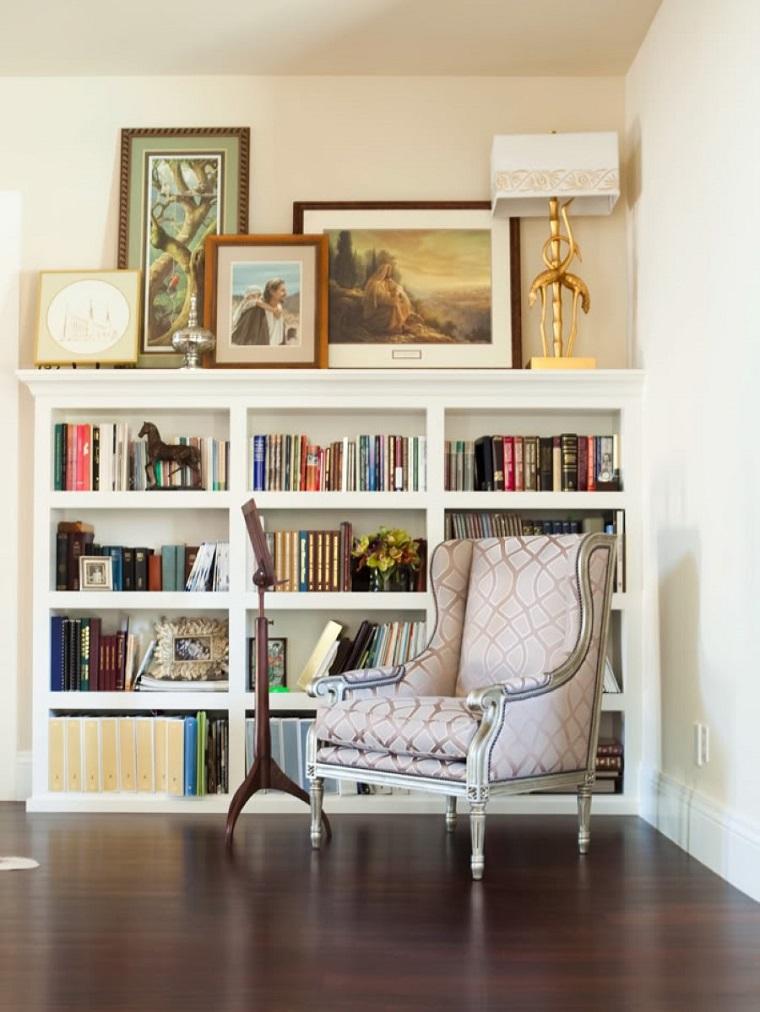 librerie in cartongesso proposta classica