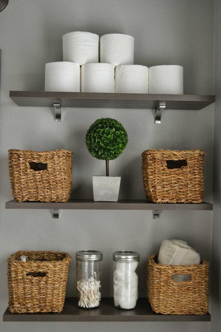 Arredamento casa con mensole e ripiani tantissime idee creative - Bagno con mensole ...