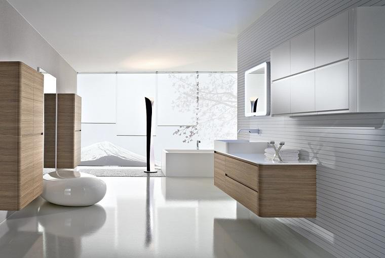 mobili bagno moderni color wenge