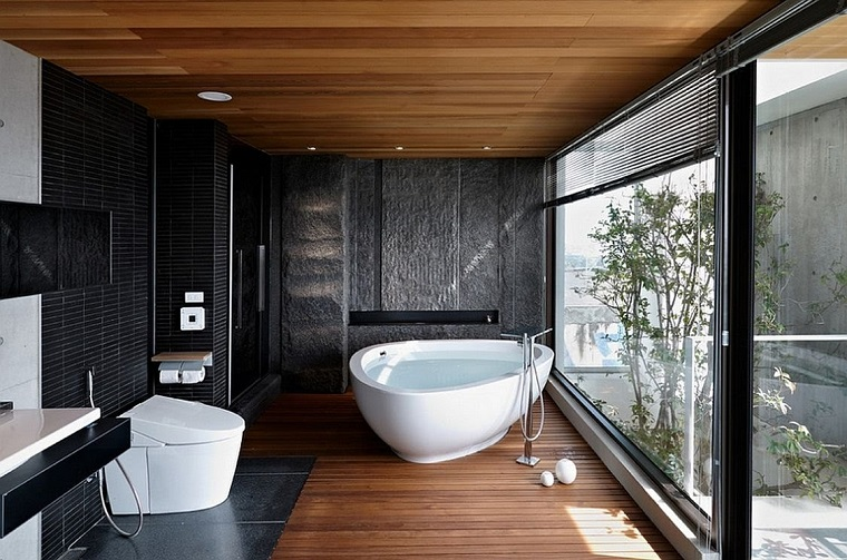 mobili bagno moderni vasca ampia