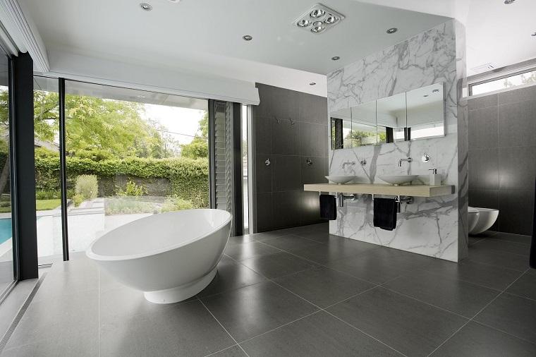 mobili bagno moderni vasca design