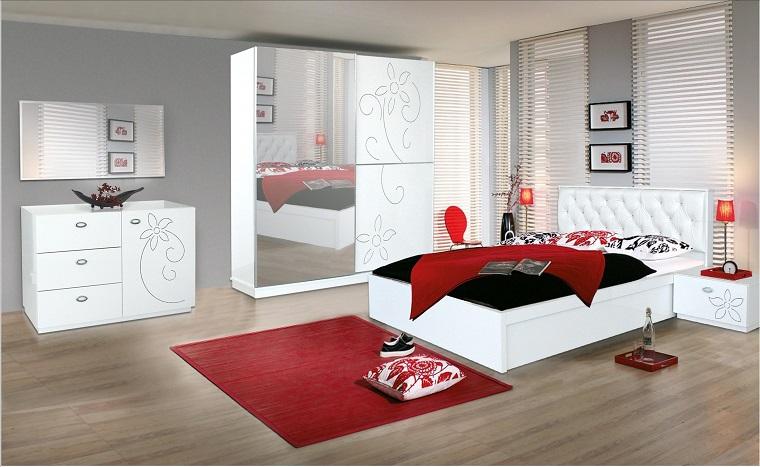 Stanze Da Letto Rosse : Camera da letto bianca proposte da sogno dalle tonalità candide