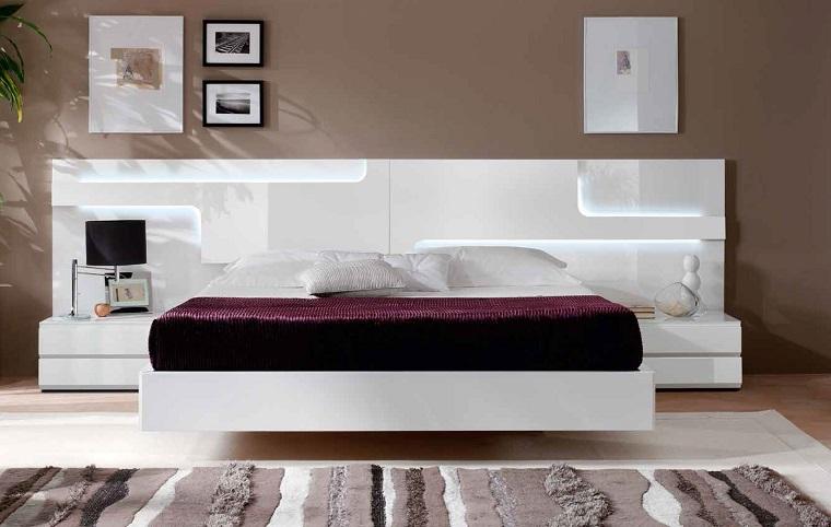 Camera Da Letto Pittura Marrone : Camera da letto bianca proposte da sogno dalle tonalità candide