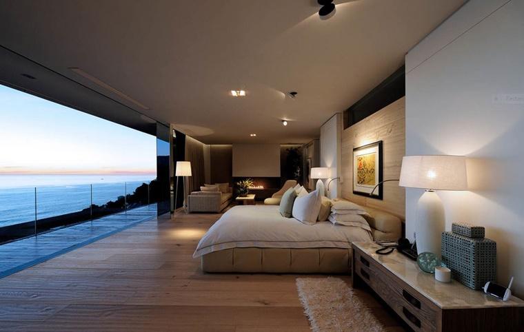 mobili moderni camera letto open space