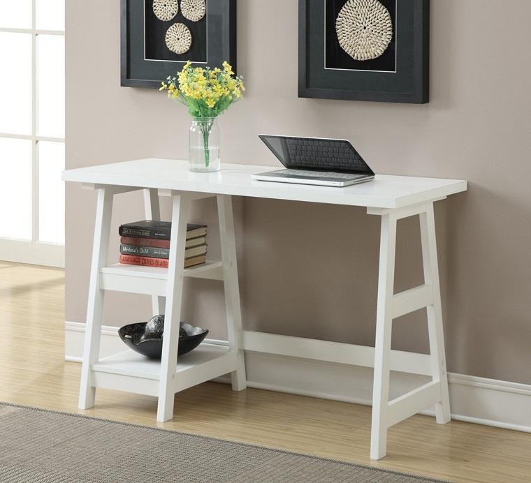 mobili per corridoio design contemporaneo colore bianco