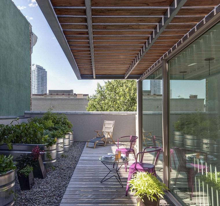 mobili per esterno design minimal