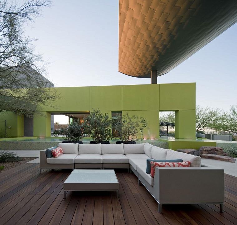 mobili per esterno grande divano