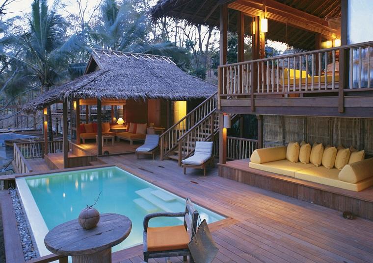 mobili per esterno idea stile tropicale