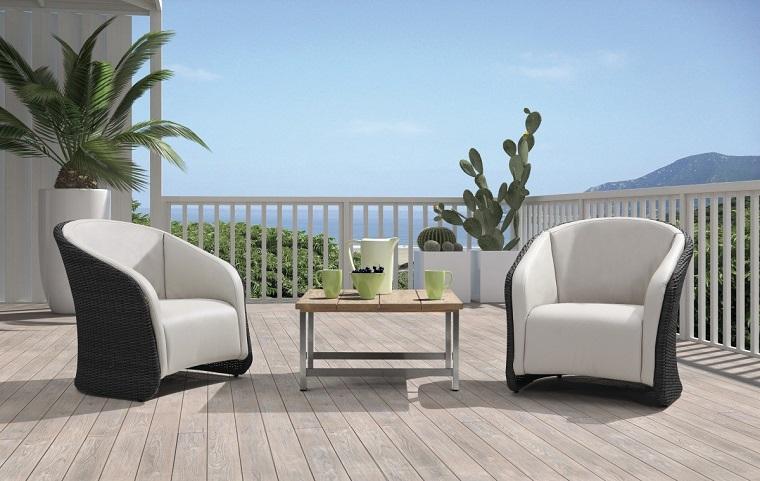 Mobili per esterno tante idee suggestive per ogni genere di outdoor - Poltrone per terrazzo ...