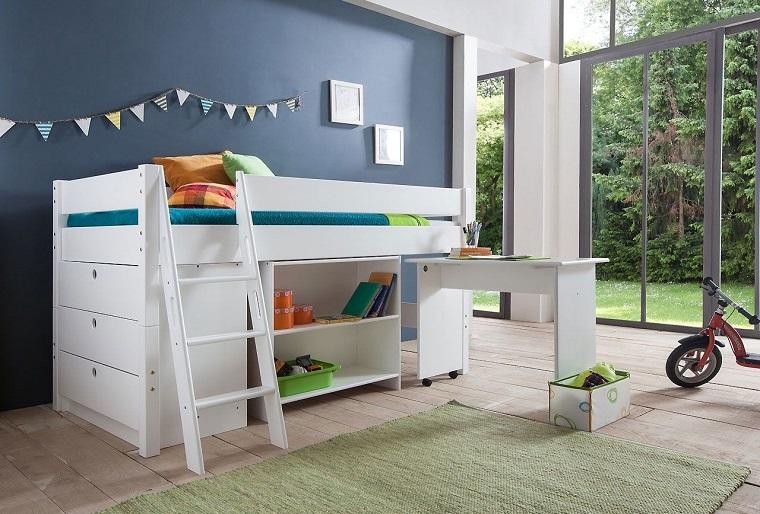 Mobili salvaspazio soluzioni per un monolocale o una stanza piccola - Mobili per bambini design ...
