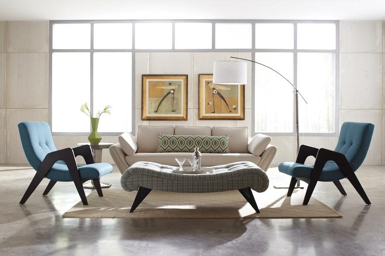 mobili soggiorno moderni poltrone design