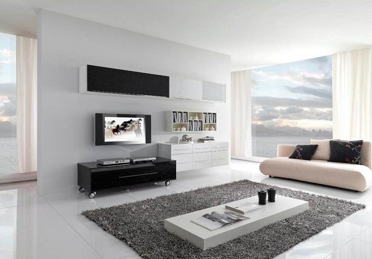 mobili soggiorno moderni tonalita chiare