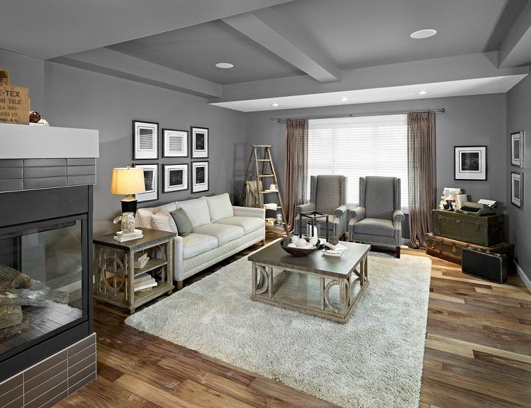 Mobili soggiorno idee design colori e tanto altro for Ambiente rustico arredamento