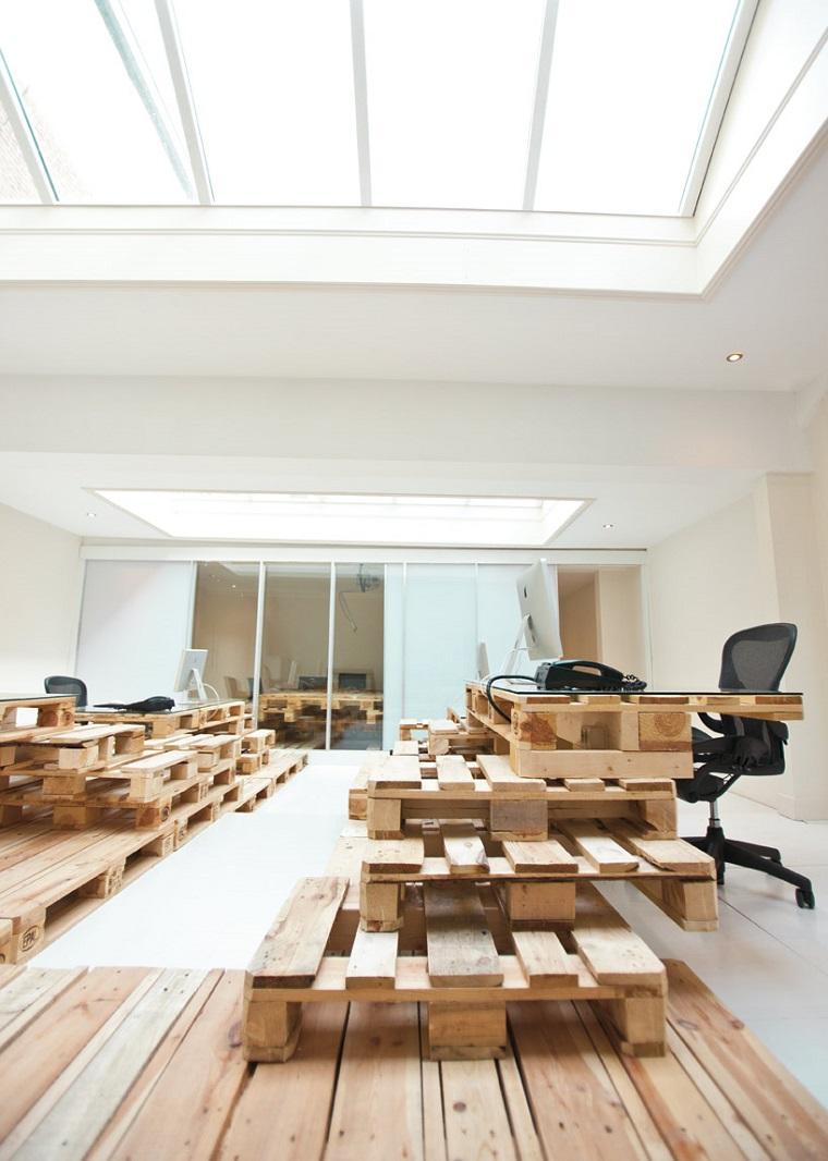 mobili ufficio strutture pallet sedie design