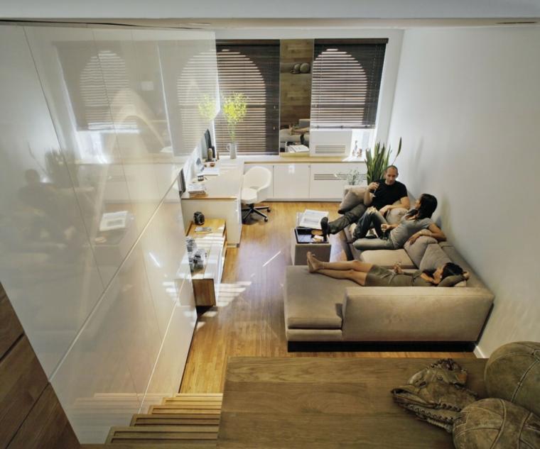 monolocali eleganti arredati divani letto