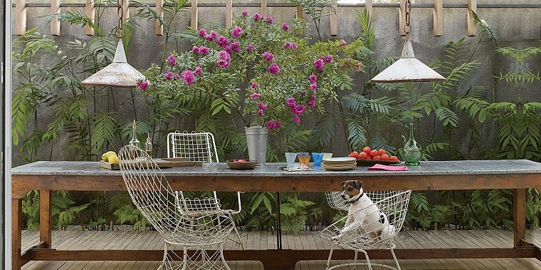 outdoor grande tavolo pranzare terrazzo