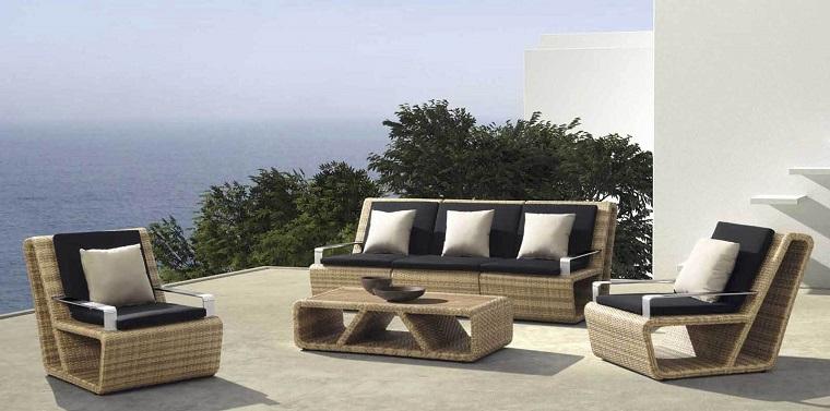 outdoor terrazzo mare set moderno