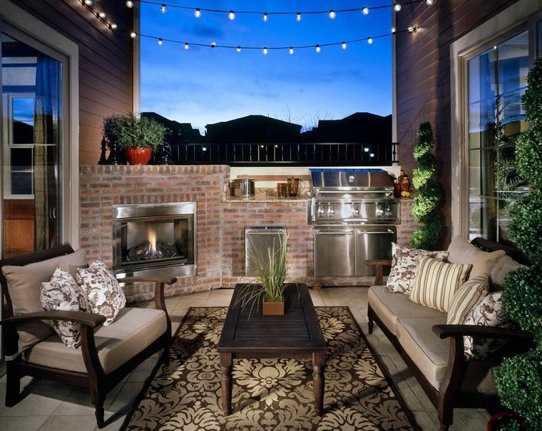 outdoor terrazzo urbano completo zona cottura