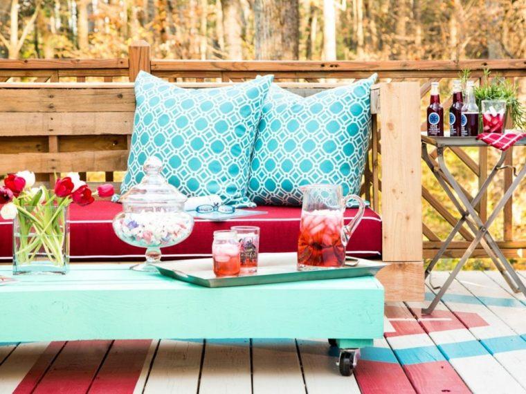 Panchine Da Giardino Usate : Pallet usati per creare dei mobili da esterno mozzafiato archzine