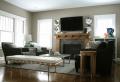 Parete attrezzata con camino e tv: 18 modi per arredare il soggiorno