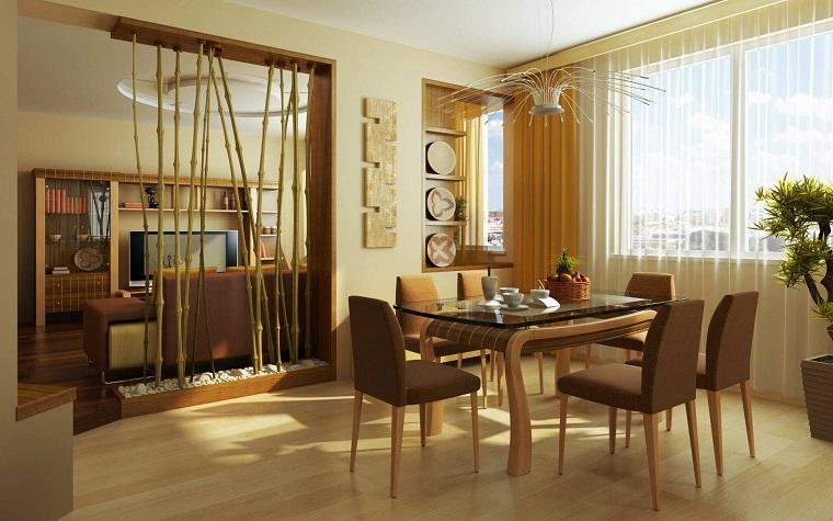 Parete divisoria per un soggiorno alla moda e di design ...