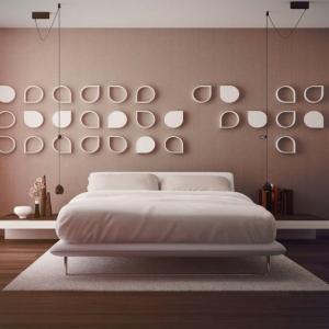 Pareti - idee per dipingere la camera matrimoniale in modo particolare