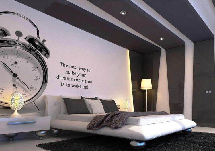 Pareti - idee per dipingere la camera matrimoniale in modo ...