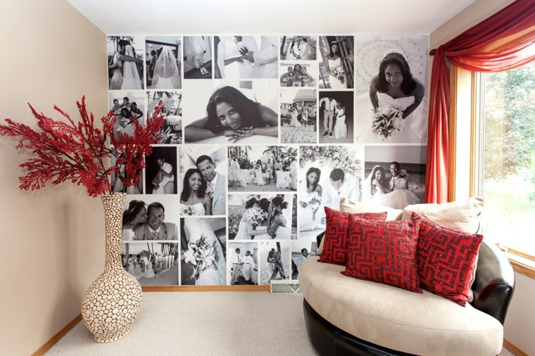 photo collage parete suggerimento particolare