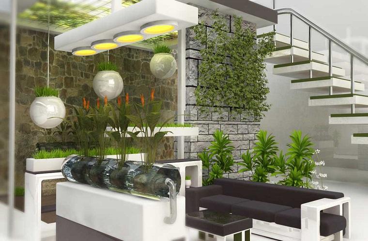 Piante da interno alcune idee per disporle in modo for Piante appartamento design