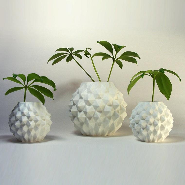 Piante da interno alcune idee per disporle in modo - Vasi bianchi da interno ...