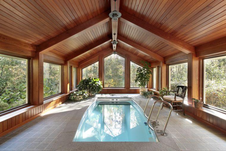 piccola piscina ambiente come spa