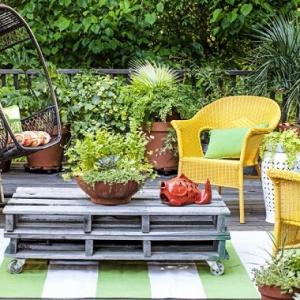 Separ da giardino alcune idee belle e funzionali per for Piccoli giardini da sogno