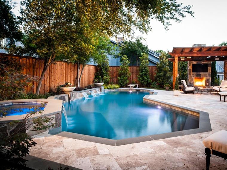 piscina interrata forma design particolari