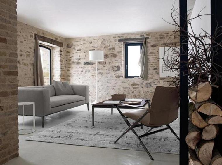 proposta creativa creare ambiente design rustico