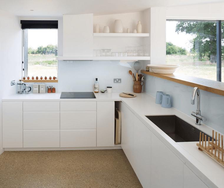 proposta interessante cucina moderna colore bianco