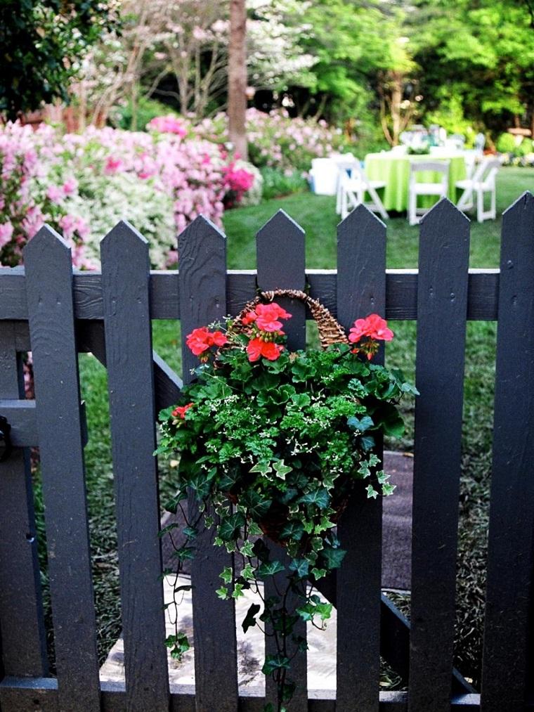 recinto classico legno decorazione floreale