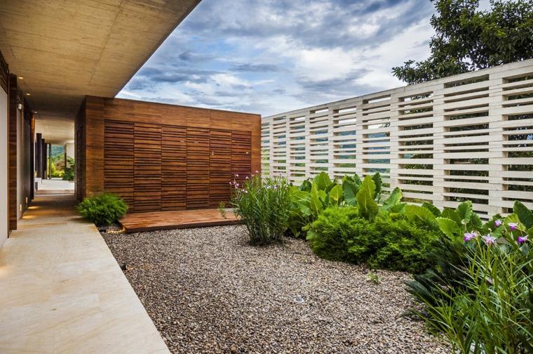 recinzione giardino idea originale design moderno