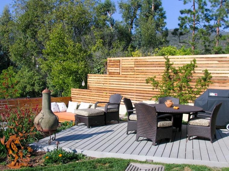 recinzione giardino soluzione avanguardia legno