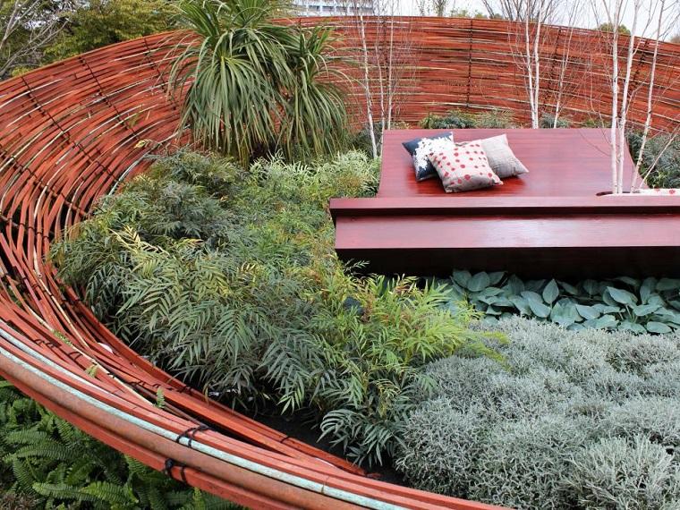 recinzioni da giardino idea originale mozzafiato