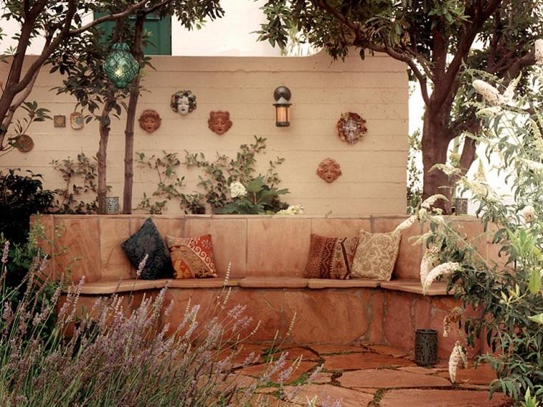 recinzioni giardino particolare tipo muretto
