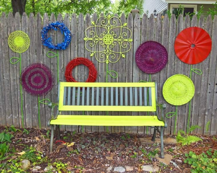recinzioni giardino proposta rustica decorazioni