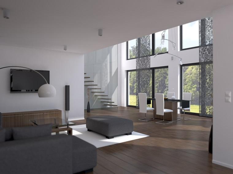 Arredare salotto in stile moderno con idee e suggerimenti di design for Soggiorno arredato
