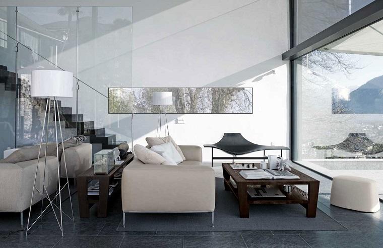soggiorno moderno mobili design avanguardia